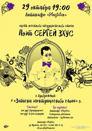 Сергей Зхус концерт в Самаре 29 октября 2014