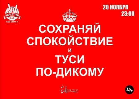 Туси по-дикому концерт в Самаре 20 ноября 2015