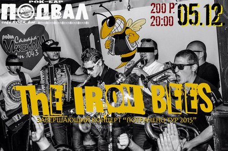 The Iron Bees концерт в Самаре 5 декабря 2015