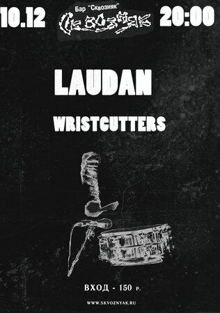 Laudan, Wristcutters концерт в Самаре 10 декабря 2015