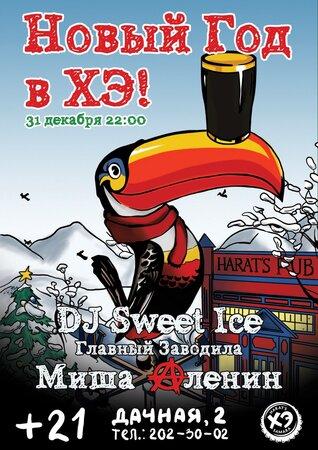 DJ Sweet Ice концерт в Самаре 31 декабря 2015