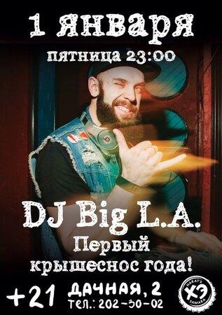 DJ Big L.A. концерт в Самаре 1 января 2016
