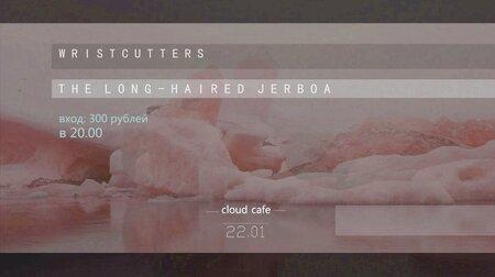 Wristcutters, The Long-Haired Jerboa концерт в Самаре 22 января 2016