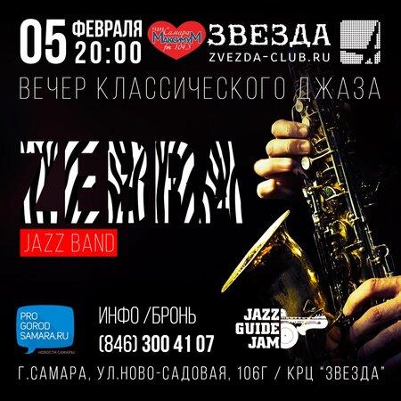 Зебра концерт в Самаре 5 февраля 2016