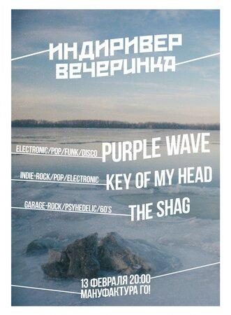 Purple Wave концерт в Самаре 13 февраля 2016
