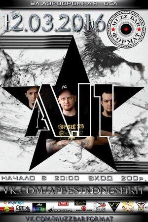 А.П. концерт в Самаре 12 марта 2016