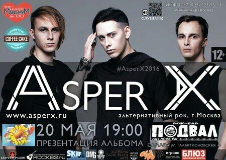 Asper X концерт в Самаре 20 мая 2016