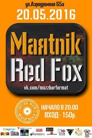 Маятник, Red Fox концерт в Самаре 20 мая 2016