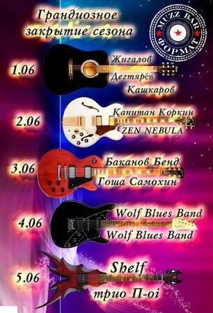 Wolf Blues Band концерт в Самаре 4 июня 2016