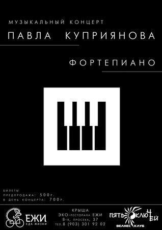 Павел Куприянов концерт в Самаре 11 июня 2016