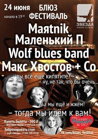 Блюз Фестиваль концерт в Самаре 24 июня 2016