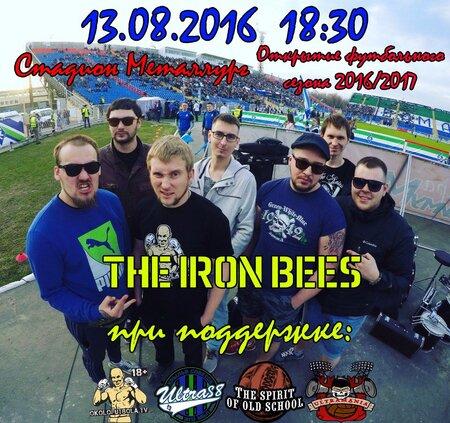 The Iron Bees концерт в Самаре 13 августа 2016