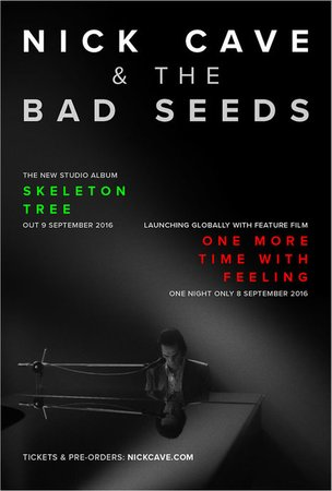 Nick Cave and The Bad Seeds. One More Time With Feeling концерт в Самаре 8 сентября 2016