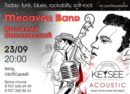 Акустический вечер концерт в Самаре 23 сентября 2016