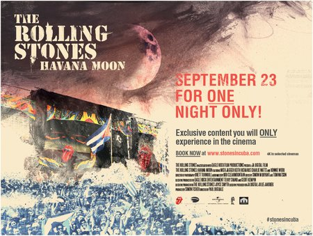 The Rolling Stones: Havana Moon концерт в Самаре 23 сентября 2016