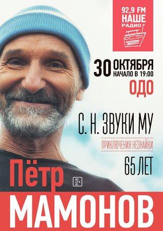 Пётр Мамонов концерт в Самаре 30 октября 2016