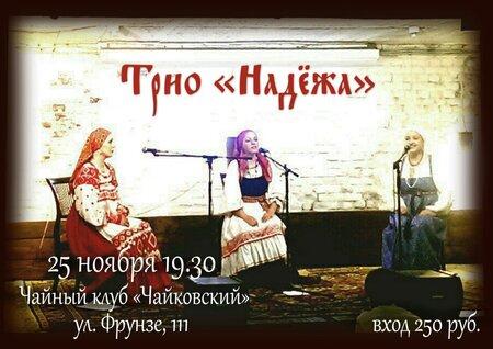 Надёжа концерт в Самаре 25 ноября 2016