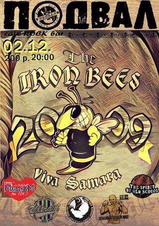 The Iron Bees концерт в Самаре 2 декабря 2016