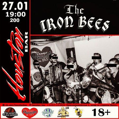 The Iron Bees концерт в Самаре 27 января 2017