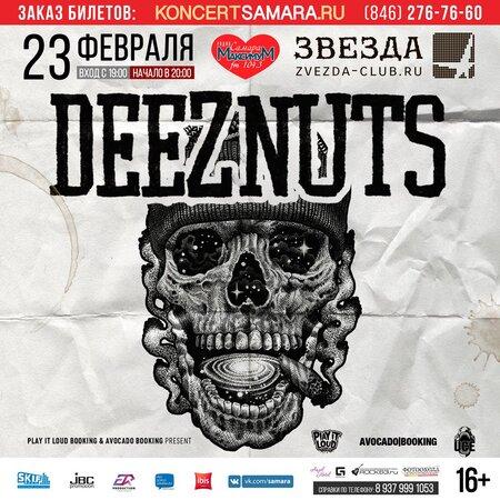 Deez Nuts концерт в Самаре 23 февраля 2017