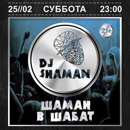 DJ Shaman концерт в Самаре 28 февраля 2017