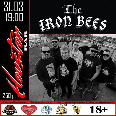 The Iron Bees концерт в Самаре 31 марта 2017
