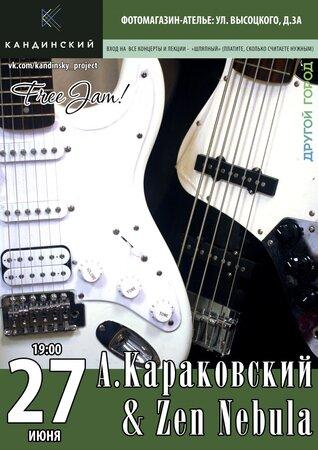 Алексей Караковсий, Zen Nebula концерт в Самаре 27 июня 2017