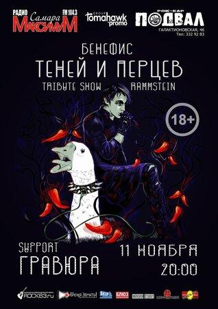 Тени Перца концерт в Самаре 11 ноября 2017