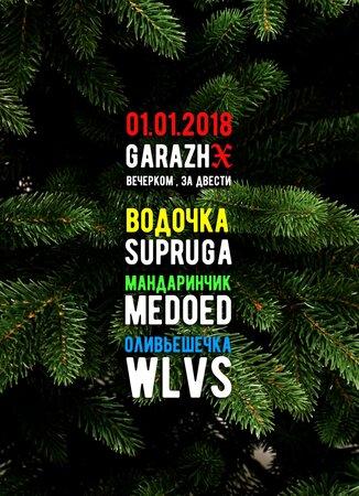 Supruga, WLVS, Medoed концерт в Самаре 1 января 2018