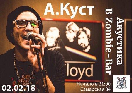 Артемий Куст концерт в Самаре 2 февраля 2018