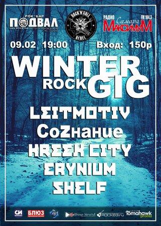 WinterRock Gig концерт в Самаре 9 февраля 2018