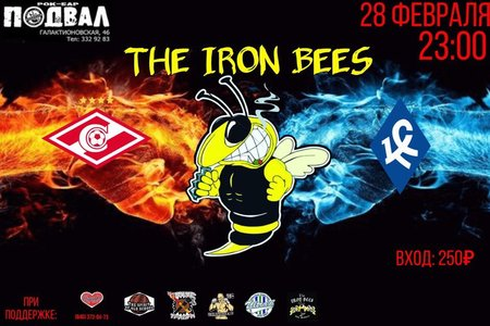 The Iron Bees концерт в Самаре 28 февраля 2018