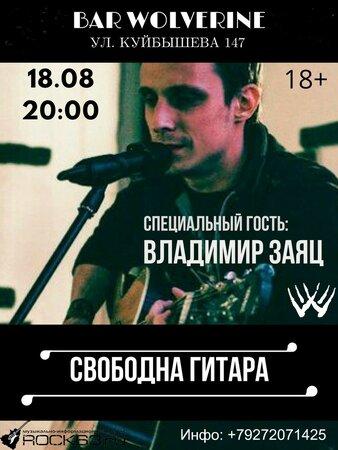 Свободная гитара концерт в Самаре 18 августа 2018