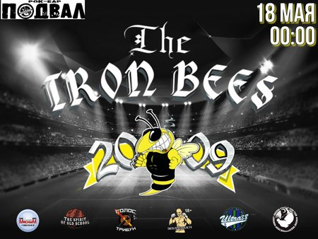 The Iron Bees концерт в Самаре 18 мая 2019