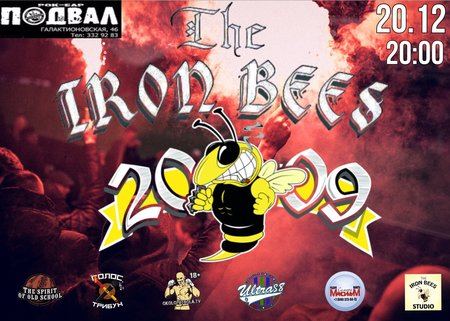 The Iron Bees концерт в Самаре 20 декабря 2019