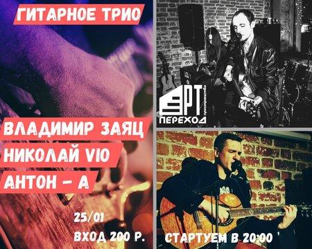Гитарное трио концерт в Самаре 25 января 2020