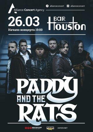 Paddy and the Rats концерт в Самаре 26 марта 2020