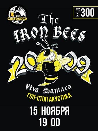 The Iron Bees концерт в Самаре 15 ноября 2020