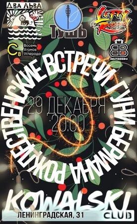 Рождественские встречи Гуни Бермана концерт в Самаре 29 декабря 2020
