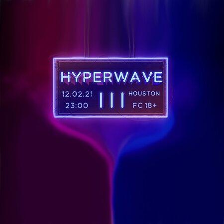 Hyperwave III концерт в Самаре 12 февраля 2021