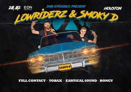 DNB Episodes: Lowriderz & Smoky D концерт в Самаре 20 февраля 2021