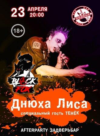 Black Fox концерт в Самаре 23 апреля 2021